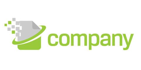 Digital document technology logo