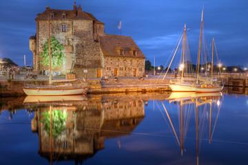 The Lieutenance, Honfleur, France Fototapete