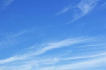 Keuken foto achterwand Hemel Cirrus Clouds