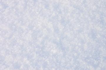 Fresh natural snow background