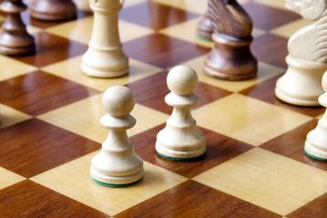 Due pedoni - scacchi
