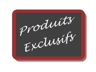 PANNEAU PRODUITS EXCLUSIFS