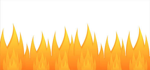 glossy fire background