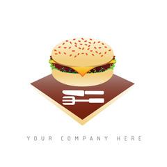 logo picto web hamburger marketing commerce design icône
