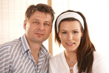 Portrait of caucasian couple