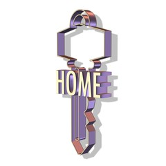 3d home key