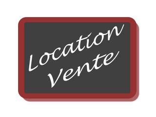 PANNEAU LOCATION VENTE
