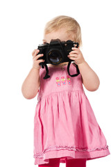 Child photographing