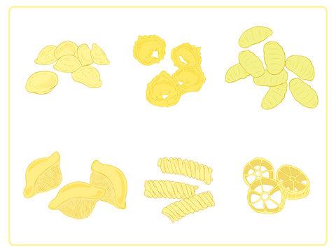 Italian pasta group.