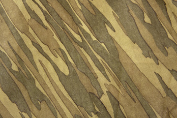 Close-up of camouflage pattern