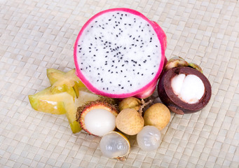 South East Asian exotic fruits