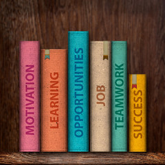 Collection of books from motivation to success