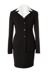 Female classic business suit #1 | Isolated
