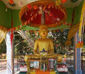 Buddha image in Cambodia