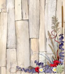 Organic Floral Background Design 2