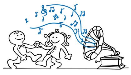 figur tanz beim grammophon