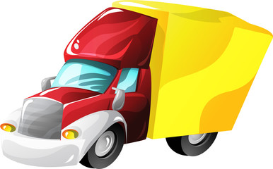 Printed roller blinds Cars Cartoon lorry truck