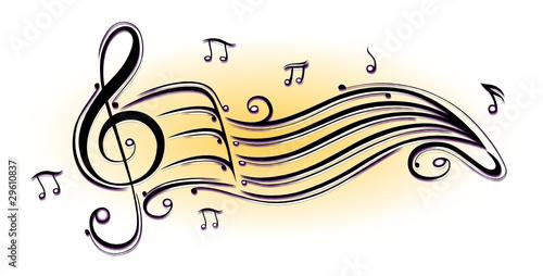 """noten notenschlüssel musiknoten musik"" stockfotos und"
