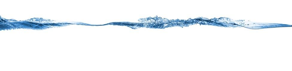 Wave. Water splashing isolated on white background