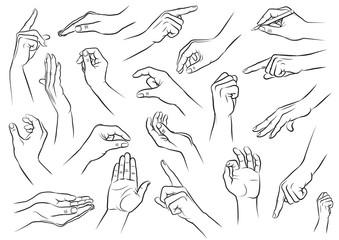 Hand, Hände, Haltungen