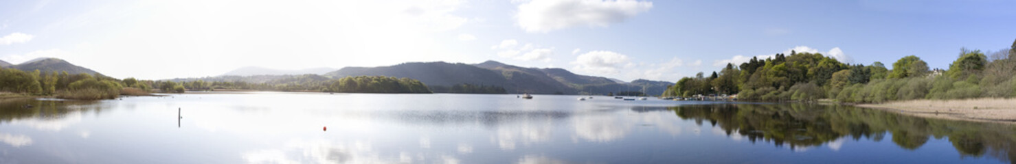 Derwent Water Panorama