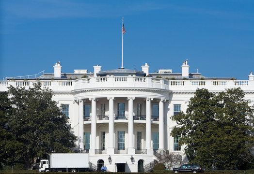 South Side White House Moving Van Washington DC