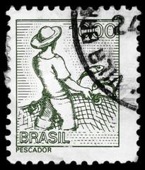BRAZIL - CIRCA 1977 Fisher