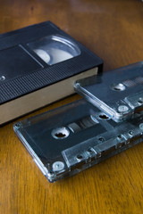 video tape and cassettes