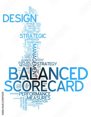 word cloud balanced scorecard stock photo and royalty free images