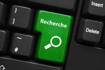 """Touche """"RECHERCHE"""" sur Clavier (rechercher internet bouton web)"""