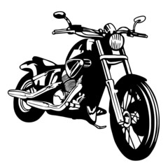 Aluminium Prints Motorcycle moto custom
