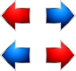 Flechas de direccionamiento