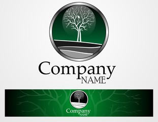 Logo empresa verde