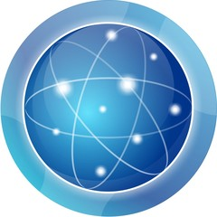 icono logo ciencia