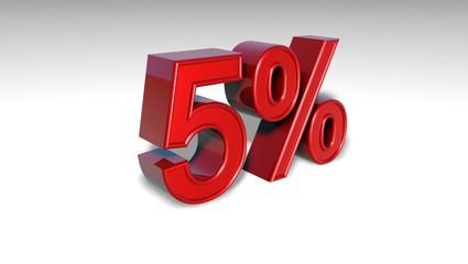 5% _ pourcentages
