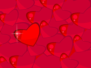 background-hearts
