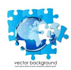 vector globe