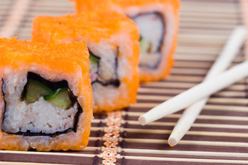 Traditional japanese  rolls