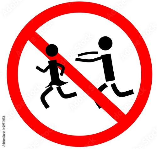 rennen verboten