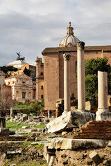 Wall Mural - Roman forum