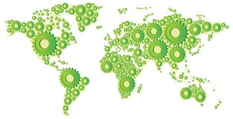 production mondiale de produits manufactures