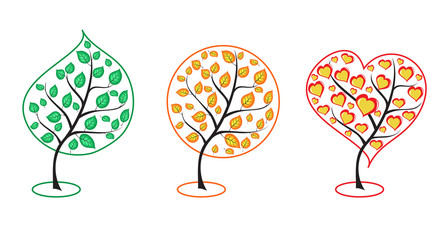vector Collection of trees for you