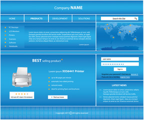 special website template