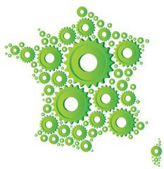 production industrielle, bio en france