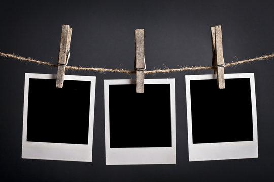 Three Polaroids