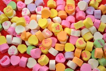 Valentine's Candies Background