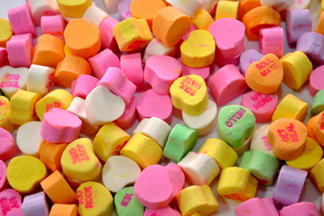 Background of Valentine's Candy
