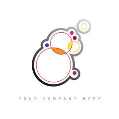 logo picto web cercle marketing pub commerce design icône