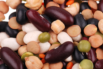 Background from the various bean
