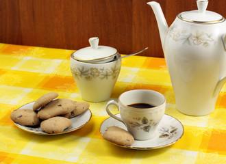 Caffé e biscotti - Coffee and biscuits